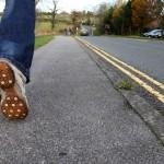 Walking, Shoes